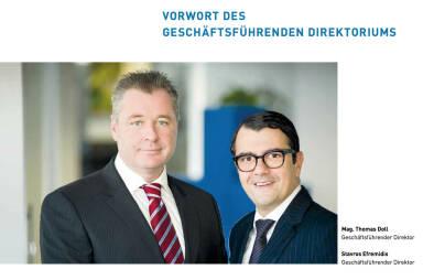 Thomas Doll (Geschäftsführender Direktor), Stavros Efremidis (Geschäftsführender Direktor)