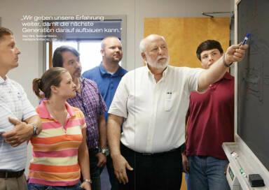 """Gary Click, Technical Director, voestalpine Nortrak Inc., USA: """"Wir geben unsere Erfahrung weiter, damit die nächste Generation darauf aufbauen kann."""""""