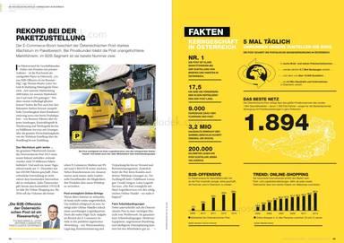 Österreichische Post Geschäftsbericht 2013 - Rekord bei der Zustellung