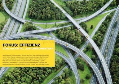 Österreichische Post Geschäftsbericht 2013 - Fokus Effizienz