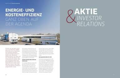 Polytec Geschäftsbericht 2013 - Aktie & Investor Relations