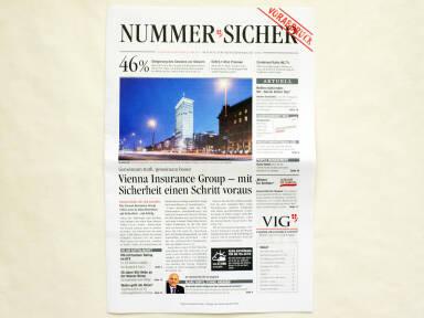 Vienna Insurance Group Konzernbericht 2014 - Nummer Sicher