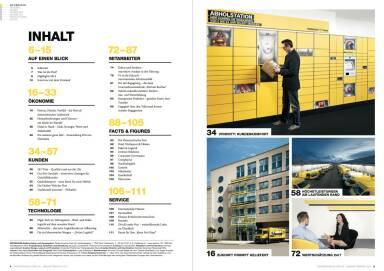 Österreichische Post Geschäftsbericht 2014 - Inhalt