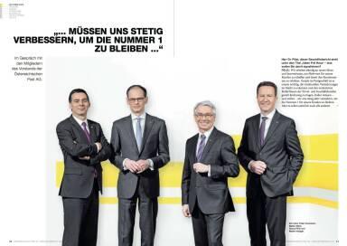 """Österreichische Post Geschäftsbericht 2014 - """"... MÜSSEN UNS STETIG VERBESSERN, UM DIE NUMMER 1 ZU BLEIBEN ..."""""""
