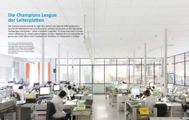 AT&S Geschäftsbericht 2014/15 - Die Champions League der Leiterplatten