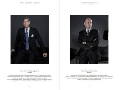 Semper Constantia Geschäftsbericht 2014 - Mag. Dietmar Baumgartner, Vorstand / Mag. Peter Reisenhofer, Vorstand