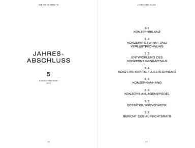 Semper Constantia Geschäftsbericht 2014 - Jahresabschluss