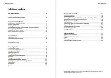 BKS Bank - Inhaltsverzeichnis