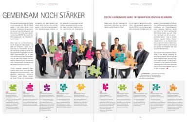 Polytec Geschäftsbericht - Gemeinsam noch stärker