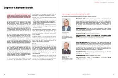 VIG Corporate Governance Bericht