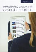 Vorne/Front of book 'Bericht Geschäfts - Immofinanz Group...