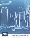 Vorne/Front of book 'Bericht Geschäfts - AT&S Geschäftsbe...