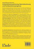 Hinten of book 'Bericht Geschäfts - Alexander Hohendanner...