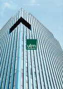 Vorne of book 'Bericht Geschäfts - UBM Geschäftsbericht 2...
