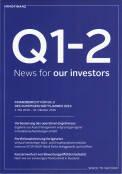 Vorne of book 'Bericht Geschäfts - Immofinanz Finanzberic...