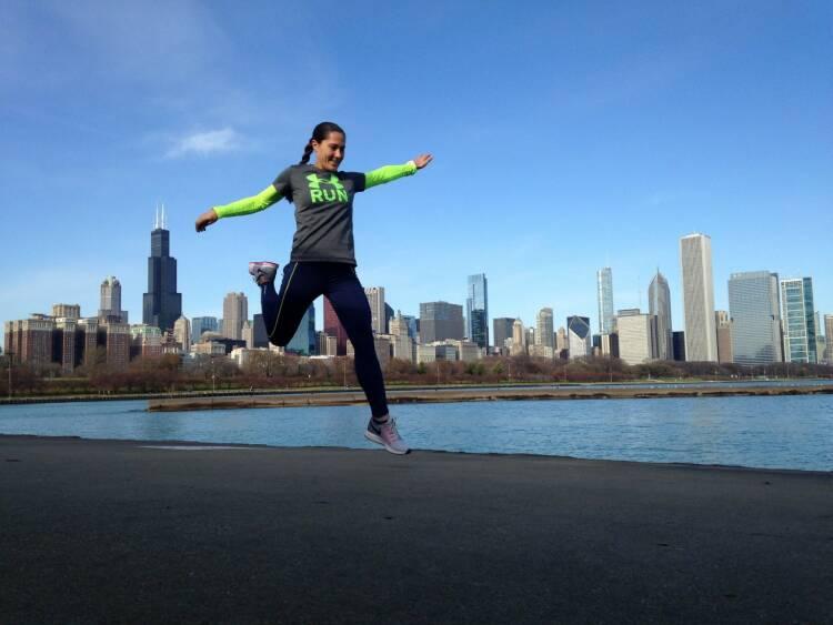 Nominierung Mein Sportschnappschuss 2016 ...beim Laufen in Chicago.. - Voten und/oder auch sich selbst nominieren unter http://www.facebook.com/groups/Sportsblogged