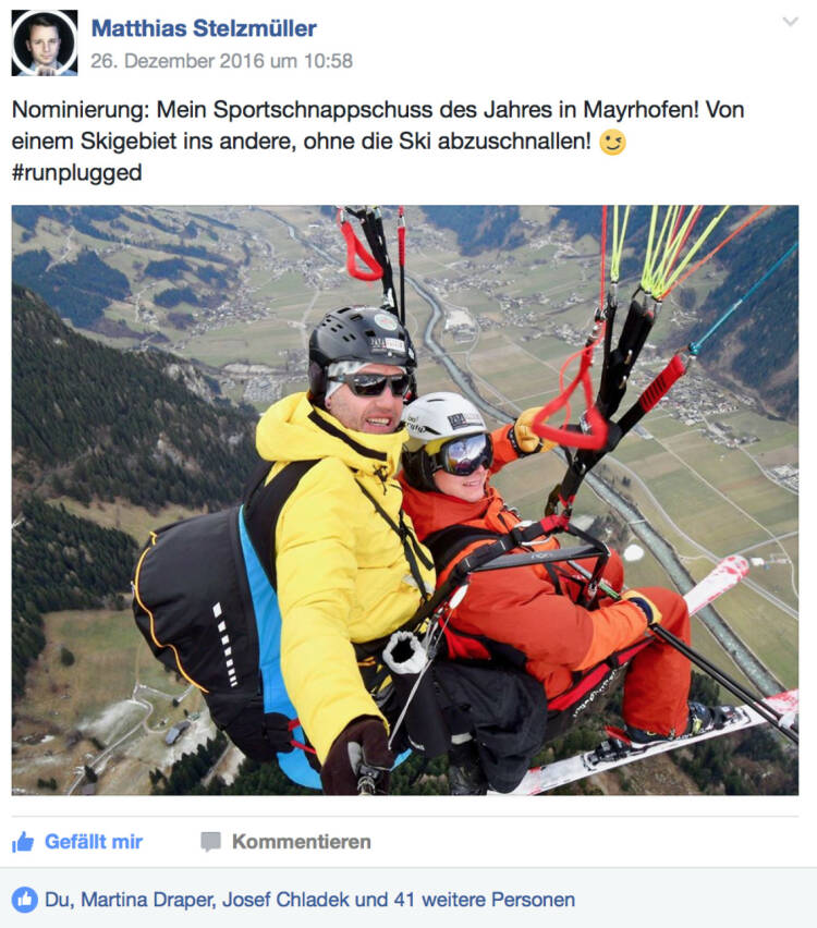 Sieger Matthias Stelzmüller mit 44 Stimmen