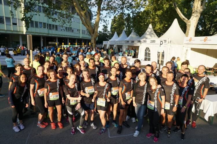 Wienerberger - Congratulations to all 15 Wienerberger Teams who participated at yesterday's #BusinessRun in Vienna